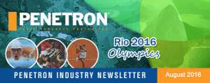 Il Sistema PENETRON alle <strong>Olimpiadi di Rio 2016</strong>