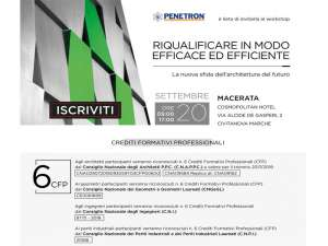 Convegno <strong>INFOPROGETTO</strong>:<br />&quot;<strong>RIQUALIFICARE IN MODO EFFICACE ED EFFICIENTE</strong>&quot;<br /><strong>MACERATA</strong>, Gioved&igrave; 20 settembre 2018<br />Cosmopolitan Hotel, Via Alcide De Gasperi, 2